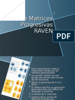 Test de matrices progresivas de J.C. Raven