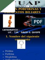 Examen Porfirinas y Pigmenatos Biliares