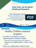 ECD Research in Saskatchewan