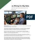 Big Oil Goes Mining for Big Data