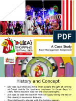Dubai Shopping Festival 2015 Event Management Case Study