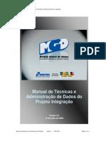 MGD - Manual de Administracao e Nomenclatura