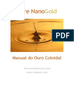 Ouro Coloidal Aure -MANUAL de uso