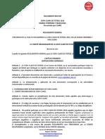 Documento Rector Ccf 2016