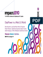 Datapower in Web20 World