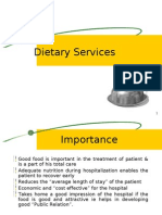 Dietary Service- by dheeraj