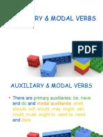 AUXILIARY & MODAL VERBS B1.5