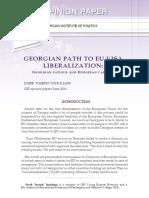 Georgian Path to EU Visa Liberalization