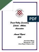 fvssaa annual report 2016
