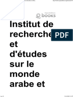 Où Va l'Algérie _ - 13. École Et Religion - Institut de Recherches Et d'Études Sur Le Monde Arabe Et Musulman