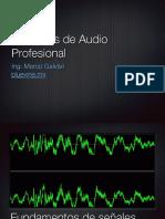 Principios de Audio