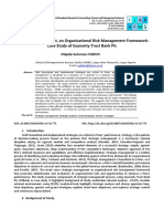 Article 06 Strategic Management an Organisational Risk Management2