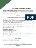 Reglamento Club Sport Colombia Turbaco3