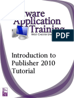 Introduction to Publisher 2010
