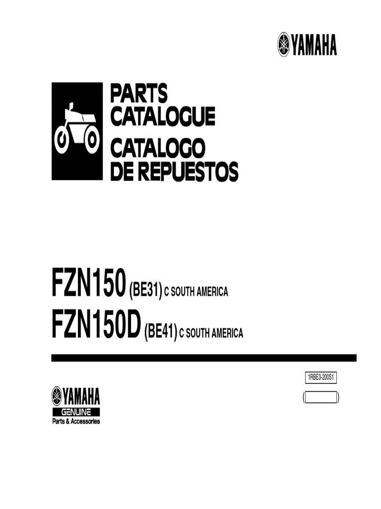 Catalogo Yamaha FZN150D BE41_2016