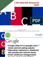 Topik 06-Internet Research Skill
