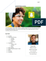 Snapchat AR Research - June 20th, 2016