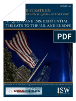 Al-qaeda and Isis Threat