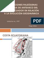 DEFORMACIONES PALEÓGENAS DE LA ZONA DE ANTEARCO DEL SUR DEL ECUADOR EN RELACIÓN A LA EVOLUCIÓN GEODINÁMICA