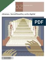 Magnífica reflexion sobre arte y tecnologiaRO VV. AA. Jovenes Tecnofilosofia Arte Digital