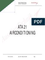 A320 ATA 21 L3 TECHNICAL TRAINING MANUAL