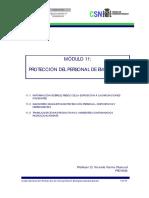 Curso General de Formación de Actuantes en Emergencias Nucleares. TEMA 11. Protección Del Personal de Emergencia