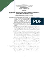 Surat Keputusan Dirjen Dikti Kep 2006