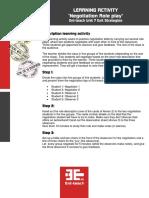 Learning Activity Unit 7 - 1 En