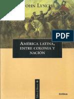 America Latina Entre Colonia y Nacion