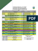 Horario 2016-i Ciclo III-Viii Mod. II Plan 2007