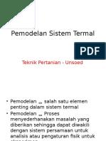Pemodelan Sistem Termal