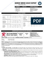 06.06.16 Mariners Minor League Report