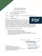 Berger solicita a Seremi Bienes Nacionales informe sobre estado gestiones de saneamiento terrenos sector Beneficencia-Bertolotto