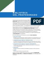 BIBLIOTECA DEL PROFESORADO
