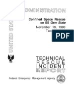 Technical Rescue Incident Report