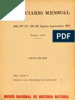 Material Litico Metodologia de Clasificación