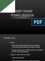 Prinsip Dasar Terapi Oksigen Untuk Rsij Sukapura