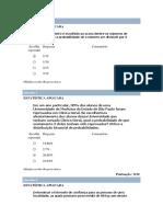 Prova - Estatística 03