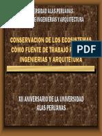 Alas Peruanas Ecosistemas