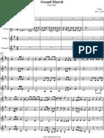 Aida Partitura para Saxofone