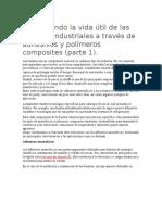 Aumentando La Vida Útil de Las Bombas Industriales a Través de Adhesivos y Polímeros Composites