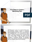Five Steps to Create a Marketing Plan