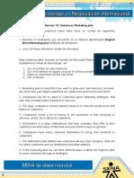 Evidencia 10 Sentences Marketing Plan