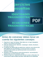 Ejercicios Resueltos Identidades Trigonometricas