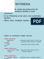 TINTORERIA ,INTRUDUCCION
