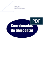 Trabalho Matemática - Baricentro