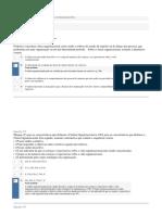 APOL 04 - Estatística e Psicologia Voltada à Gestão Das Organizações