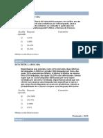 Prova - Estatística 07