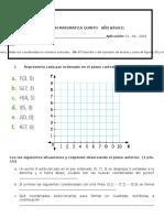 Prueba Jueves 21 de Abril Plano Cartesiano Figuras 2d y 3d