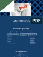 Region Anorrectosigmoidea